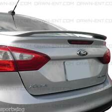 Spoiler, PAINTED Wing Factory Style For: FORD FOCUS SEDAN 4 Door 2012-2014