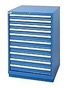 LISTA XSSC0900-1002 - SC900 10-Drawer Counter Height Cabinet, Standard Dep
