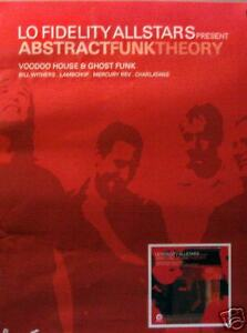 LOW FIDELITY ALLSTARS POSTER, ABSTRACT FUNK THEORY (L8)