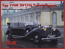 ICM 1/35  Type 770K (W150) Tourenwagen WWII German Leader's Car #35533 (Sealed)