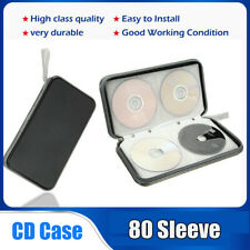 CD DVD Storage Case Wallet Bag 80 Disc Media Album Holder Container Box