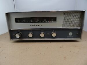 vintage 1962 HALLICRAFTERS CRX-2 Single Band FM Shortwave RECEIVER Radio