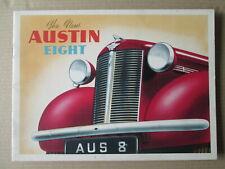 The New Austin Eight brochure 1939.Austin cars brochure.Morris cars.
