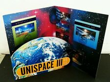 United Nations Unispace III 1999 Space Earth Astronomy Satellite (folder) *rare