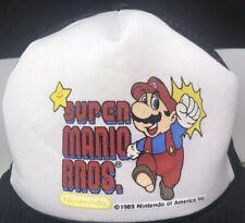 Pre-owned Super Mario Bros Nintendo Authentic 1989 Vintage Snapback Trucker Hat