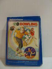 BOWLING  - Intellivision - Mattel