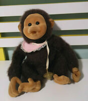 HOSUNG MONKEY PLUSH TOY WITH DUMMY SQUEAKER IN MIDDLE STUFFED ANIMAL