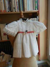 Petite robe de cérémonie pour fillette de 1 an