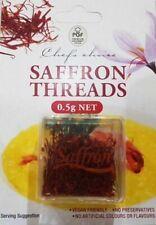 Chef's Choice 100% Pure Premium Quality Saffron Threads 0.5g