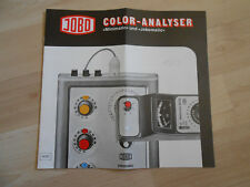 Jobo Color-Analyser Minimatic und Jobomatic 1977