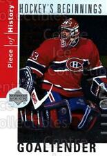 2002-03 UD Piece of History Hockey Beginnings #6 Patrick Roy