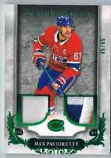 2018-19 ARTIFACTS MATERIALS EMERALD MAX PACIORETTY JERSEY 1 COLOR PATCH 3 COLORS