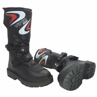 Viper K156 Motocross Enduro Off-Road Kids MX Boots Junior Black (All Sizes)