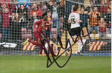 Bradford City main signé Morganne Cole 6X4 photo.