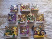 Super Mario Bros. Bandai S.H Figuarts Complete Lot of 10 Official Nintendo Set