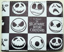 Genuine Nightmare Before Christmas JACK Mens Kids Boys Girls Bifold Purse Wallet