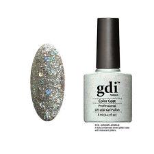 gdi nails Diamond Glitters UV/LED Soak Off Nail Gel Polish K19 - Crown Jewels UK