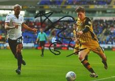 SHEFFIELD WEDNESDAY: ADAM REACH SIGNED 6x4 ACTION PHOTO+COA