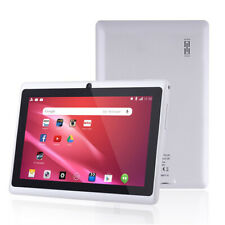 "Android Quad Core 7"" Tablet Computer PC Wifi Dual SIM HD Camera Support 32GB SD"