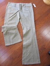 "VTG w/TAG $130 Joie Women's Khaki Cotton Flare Leg Pants~Side Pockets~Sz 31~33"""