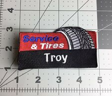 Service & Tires - Troy Michigan Rectangular Patch - Used