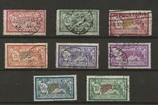 France Merson Used Stamp Collection to 10F on Stock card High Value Bargain