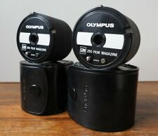 Olympus OM 250 Film Magazine x 2 - Motordrive Group - Original Olympus Case -VGC