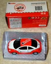 MAISTO VW NEW BEETLE PAINTED AS KINDER FERRERO SURPRISE EGG LIMITED EDITION !