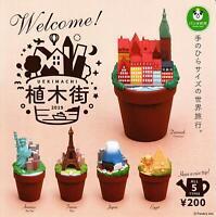 Panda hole Ueki Street 2019 UEKIMACHI All 5 set Gashapon mascot toys