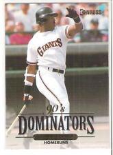 1993 DONRUSS BARRY BONDS 90's DOMINATORS