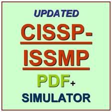 ISC2 CISSP Info Systems Security Management Pro Test CISSP-ISSMP Exam QA PDF+SIM