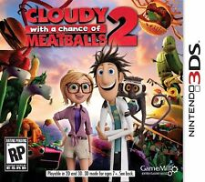 NINTENDO 3DS CLOUDY WITH A CHANCE OF MEATBALLS 2 (0166-US35)