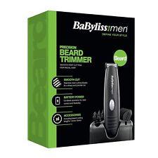 BaByliss Precision Beard Moustache Trimmer Facial Hair Trimmer for Men - Black