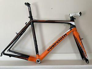 Guerciotti Lembeek Carbon frame and Fork Frameset 57cm Cx Cyclocross Gravel