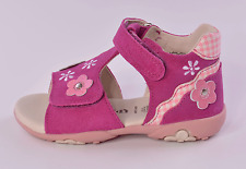 Superfit Pretty 2 Infant Girls Cerise Pink Suede Sandals UK 5 EU 21 RRP £39.00
