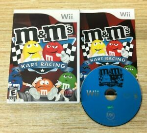 M&M's Kart Racing for Nintendo Wii - Complete in box  WORKS PERFECT SHIPS FAST