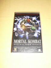Mortal Kombat : Destruction final VHS