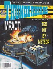 Thunderbirds #22 (8th August 1992) TV21 full colour reprint strips