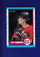 Guy Carbonneau HOF 1989-90 O-PEE-CHEE OPC Hockey #53 (NM+) Montreal Canadiens