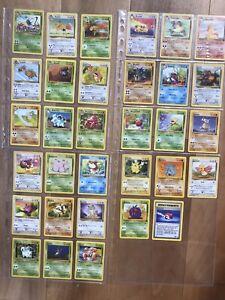 Pokemon Cards - Set JUNGLE completo Common/ Uncommon C/nm - EXC-NM No Charizard