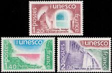 ✔️ FRANCE 1980 - UNESCO SLAVE QUARTERS  - SC.2O21/2O23 MNH OG [FROU.21/23]