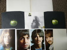BEATLES WHITE ALBUM D/LP 68 NO EMI TOP LOADING 1ST STEREO - INSERTS / SPACER EX+