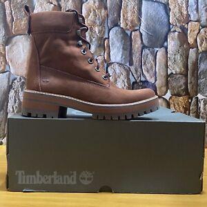 Timberland Women Courmayeur Valley 6 inch Waterproof Leather Boot A2DTZ Sz: 11M