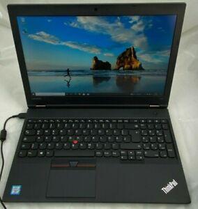 """Lenovo ThinkPad L560 Laptop 15,6"""" i5-6300U 2,4GHz 8GB Ram 256GB Win10 #c523071m3"""