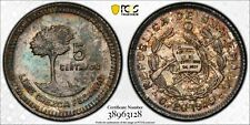 GUATEMALA 1949 Silver 5 Centavos - PCGS MS66 - Top Pop 1/0 None graded higher