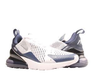 Nike Air Max 270 White/Metallic Silver-Navy Men's Lifestyle Shoes DH0613-100