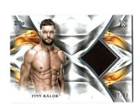WWE Finn Balor 2019 Topps Undisputed Authentic Shirt Relic Card SN 57 of 99