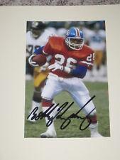 Denver Broncos BOBBY HUMPHREY Signed 4x6 Photo NFL AUTOGRAPH 1A