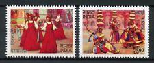 India 2017 MNH Folk Dances Bhavai Beryozka JIS Russia 2v Set Cultures Stamps