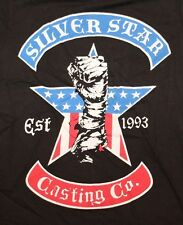 AUTHENTIC MMA UFC SILVER STAR CASTING CO COMPANY BLACK T SHIRT TEE SZ M NEW